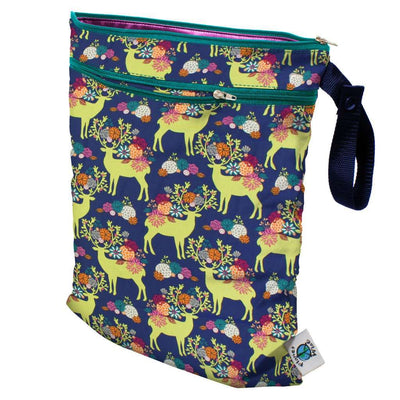 Planet Wise Wet/Dry Bag Diapering Accessory Planet Wise Caribou Bloom