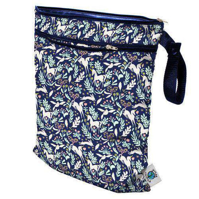 Planet Wise Wet/Dry Bag Diapering Accessory Planet Wise Enchanted Unicorns