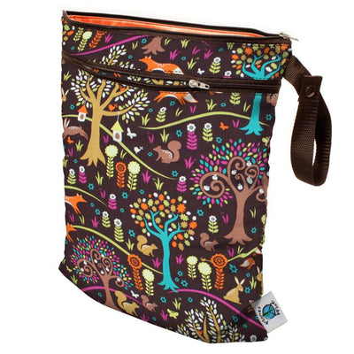 Planet Wise Wet/Dry Bag Diapering Accessory Planet Wise Jewel Woods