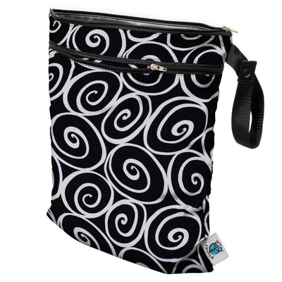Planet Wise Wet/Dry Bag Diapering Accessory Planet Wise Midnight Curl