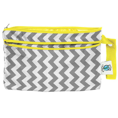 Planet Wise Wet/Dry Clutch Diapering Accessory Planet Wise Gray Chevron