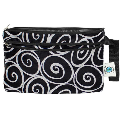 Planet Wise Wet/Dry Clutch Diapering Accessory Planet Wise Midnight Curl