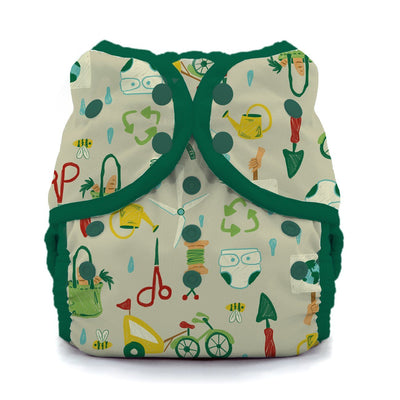 Thirsties Duo Swim Diaper Cloth Diaper Thirsties Size 1 (6-18lbs) Green Scene