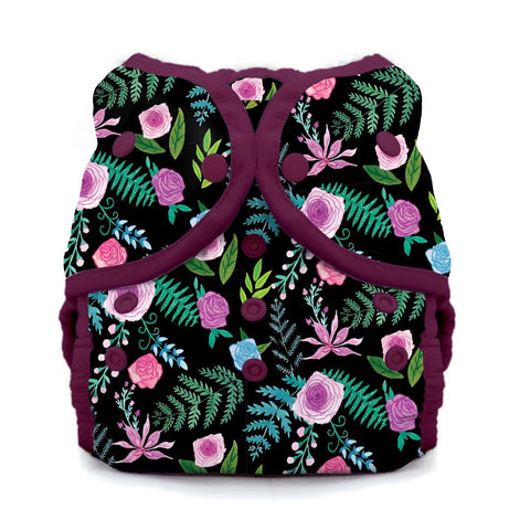 Image of Thirsties Duo Wrap | Snap Cloth Diaper Thirsties Size 1 (6-18lbs) Floribunda