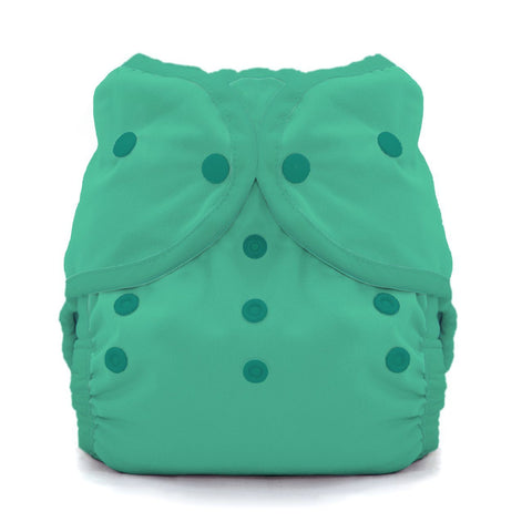 Image of Thirsties Duo Wrap | Snap Cloth Diaper Thirsties Size 1 (6-18lbs) Seafoam