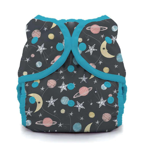 Image of Thirsties Duo Wrap | Snap Cloth Diaper Thirsties Size 1 (6-18lbs) Stargazer