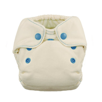 Thirsties Natural Newborn Fitted Diaper Cloth Diaper Thirsties