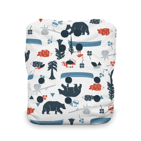 Image of Thirsties Natural One-Size All-In-One Diaper Cloth Diaper Thirsties Adventure Trail