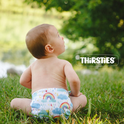 Thirsties Newborn All-In-One Diaper Cloth Diaper Thirsties