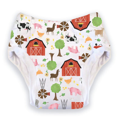 Thirsties Potty Training Pants Cloth Diaper Thirsties Small (20-27 lbs) Farm Life