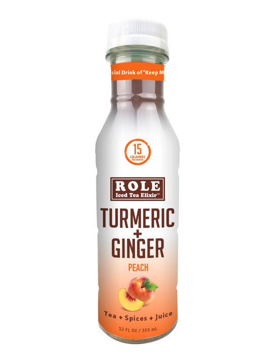 Peach Turmeric Ginger (Sweetened)