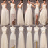 Mismatched Chiffon Long Cheap A Line Bridesmaid Dresses, BG51290