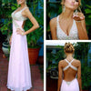 A line Junior Sexy Formal Backless Long Cheap Prom Dress, BG51094