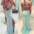 Backless Blue Sexy Mermaid Sweet Heart Long Prom Dresses, BG51150 - Bubble Gown
