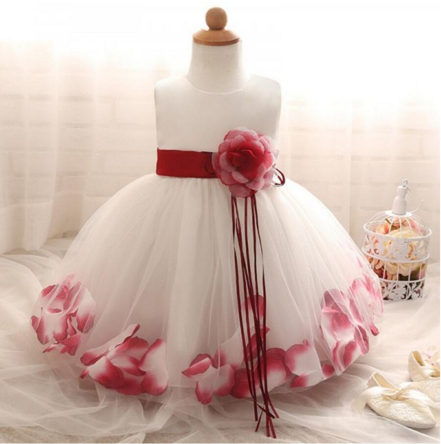 Beautiful Handmade Lovely Flower Girl Dresses, Weding Cheap Little Girl Dresses with Flowers, FGS021
