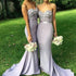 Sweet Heart Sexy Mermaid Long Wedding Guest Bridesmaid Dresses, BG51393