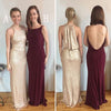 Affordable Mismatched Sequin Popular Charming Long Bridesmaid Dresses, BG51620