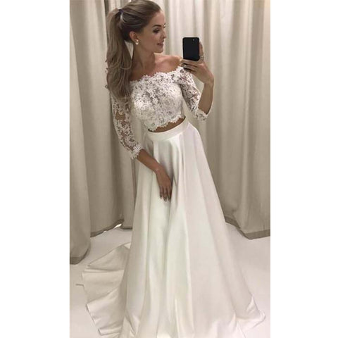 2 Piece Wedding Dresses