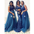 Charming Mismatched Gorgeous Affordable Long Bridesmaid Dresses, BG51249 - Bubble Gown