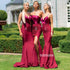 Mismatched Styles Sexy Mermaid Long Bridesmaid Dresses GDW112