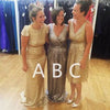 Mismatched Sequin Cheap Popular Wedding Bridesmaid Dresses, BGP279