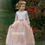 Pretty Wood Styles  A-line  Lace Flower Girl Dresses, FDH005