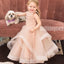 Sleeveless pink Handmade Flower Girl Dresses, Affordable Lovely Tulle Tutu Dresses, FDH001