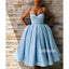 Blue Sweetheart Short Homecoming Dresses DSA120