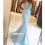 Charming Sweetheart Beads Mermaid Prom Dresses FP1187