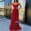 Off the Shoulder Sweetheart A-line Long Bridesmaid Prom Dresses FP1140