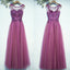 New Arrival Formal Cheap Elegant Lace Up Back Long Prom Dresses, BGP026