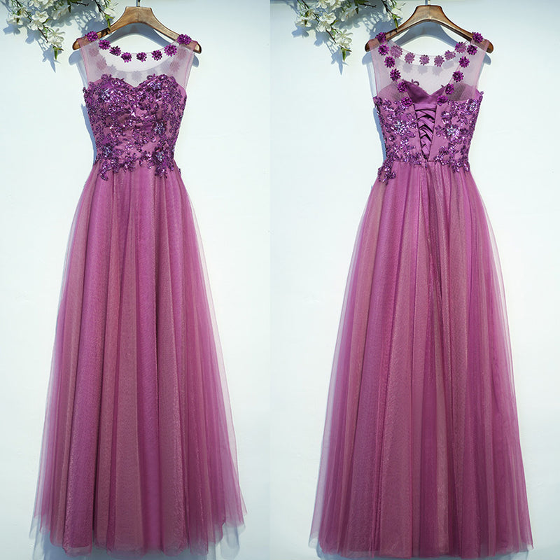 New Arrival Formal Cheap Elegant Lace Up Back Long Prom Dresses ...