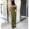 Simple Cheap Side Slit Elegant Long Prom Dresses, WP030