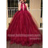 Halter Sexy Popular Open Back Cheap Evening Long Prom Dress Ball Gown, BGP077 - Bubble Gown