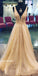 Popular Formal A Line Sparkle Affordable Cheap Long Prom Dresses, BGP219