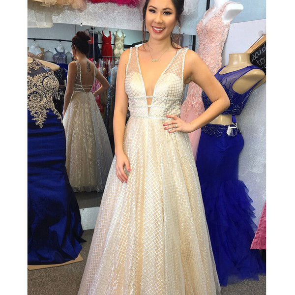 Most Popular Charming Open Back Affordable Long Prom Dresses, BG51340