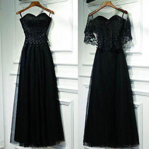 Two Pieces Sweetheart Lace Up Back Formal Popular Long Prom Dresses, BGP013