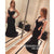 On Sale Sexy Black Mermaid Simple Cheap Long Prom Dress, BGP070