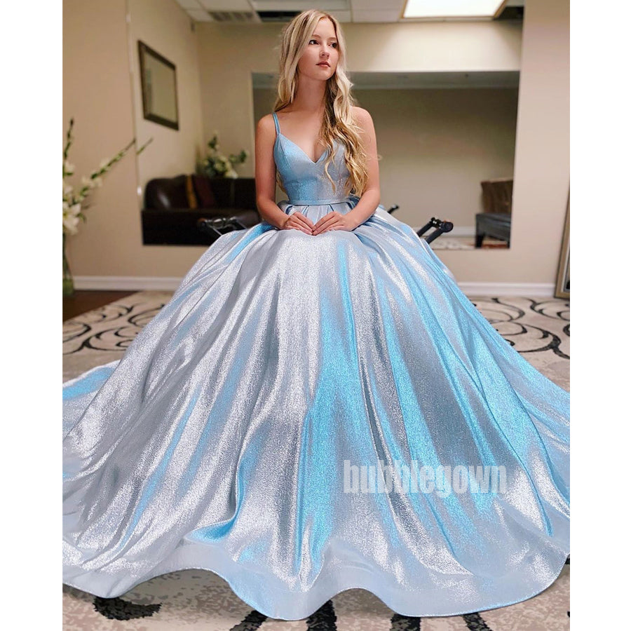 Spaghetti Strap Sweetheart Long Prom Dresses FP1151