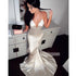 Spaghetti Strap Open Back Mermaid Long Prom Dresses FP1160