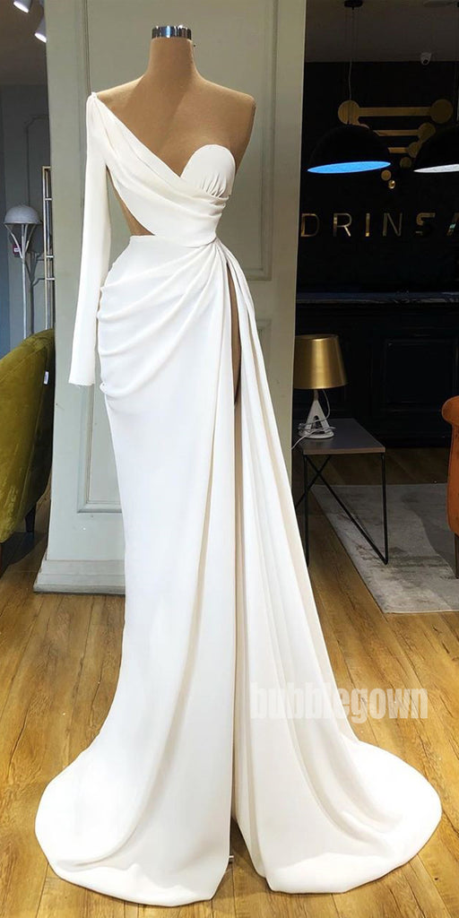 Sexy Simple Affordable Side Split Long Prom Dresses FP1162