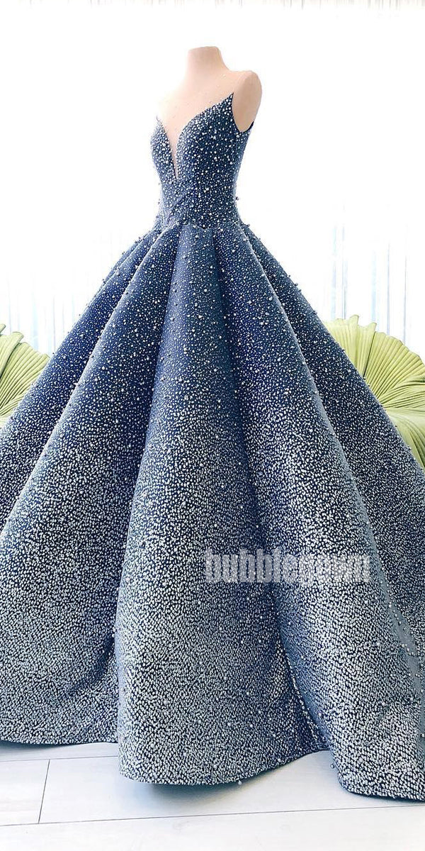 Popular Sparkle Long Prom Dresses Ball Gown FP1165