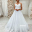 Elegant White Sweetheart Long Dreaming Wedding Dresses, BGH082