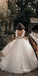 Gorgeous Spaghetti Strap Lace Split Side Dreaming Wedding Dresses, BGH083