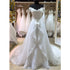 Off the Shoulder Charming A Line Inexpensive Long Wedding Dresses, BGP277
