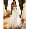 Elegant Sweetheart A Line Inexpensive Long Bridal Wedding Dresses, BGP258