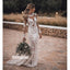 Long Sleeves Lace Mermaid Long Wedding Dresses BGP279