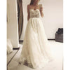 Charming Unique Sweethaert Lace A Line Bridal Long Wedding Dresses, BGP269