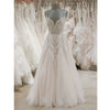 A Line Formal Spaghetti Strap Tulle Lace Cheap Long Wedding Dresses, BGP276