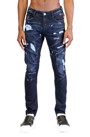 MASON WASHED SKINNY DENIM PANTS